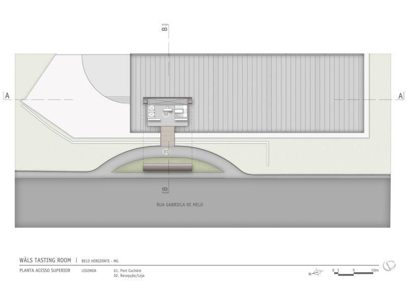 arquitectura_Gustavo Penna_planta SITUACIÓN