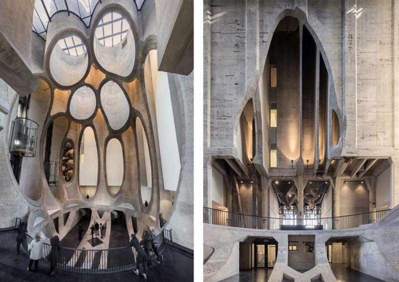 arquitectura Heatherwick Studio Zeitz MOCAA fotografia atrio interior