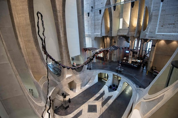 arquitectura_Heatherwick_Zeitz Museun África_interior museo_Rodger Bosch AFP Getty Images