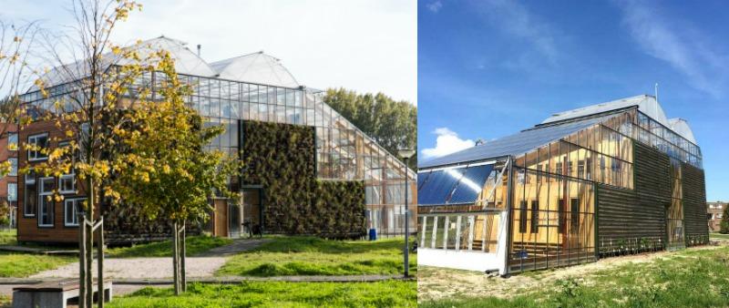 Vivienda unifamiliar invernadero urbano experimental for Arquitectura holandesa