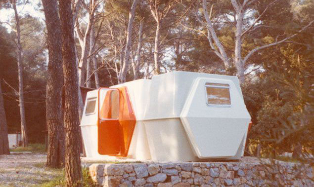 HEXACUBE Georges Candilis y Anja Blomstedt arquitectura futurista modular 70 pinar