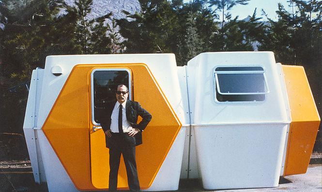 HEXACUBE Georges Candilis y Anja Blomstedt arquitectura futurista modular 70 original