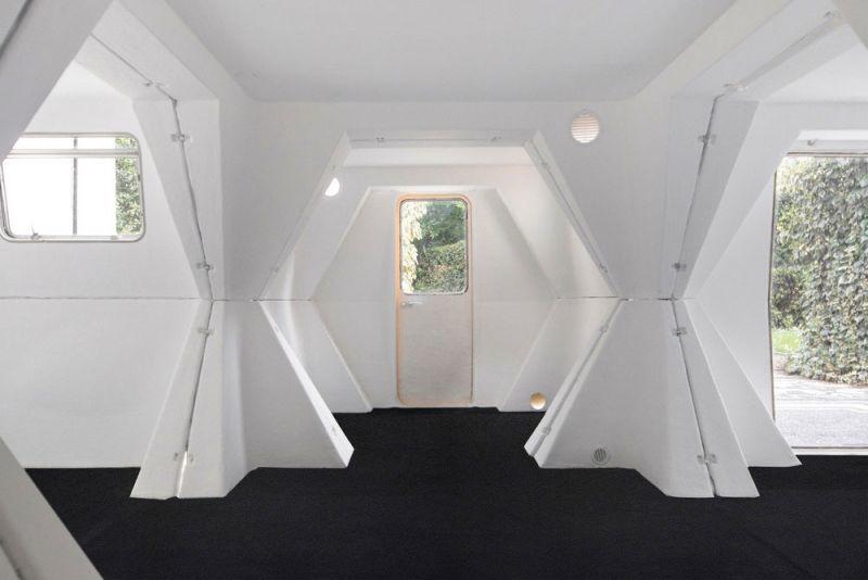 HEXACUBE Georges Candilis y Anja Blomstedt arquitectura futurista modular 70 interior 2