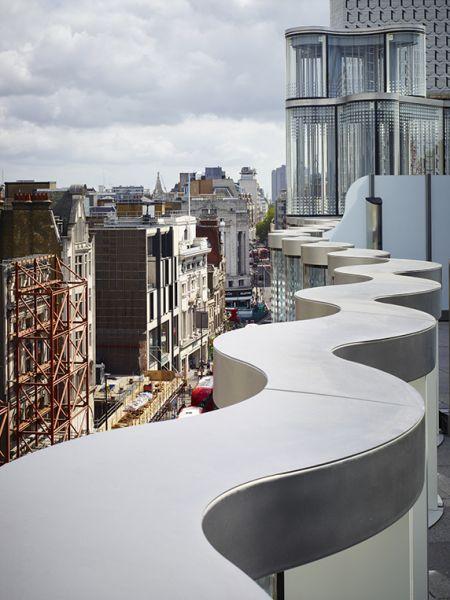 arquitectura híbrida_61 Oxfrod Street_retranqueo terrazas
