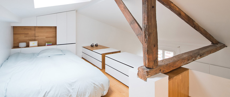 arquitectura, arquitecto, diseño, interiorismo, interior, Hike, SABO Project, París, apartamento, vivienda, almacenamiento
