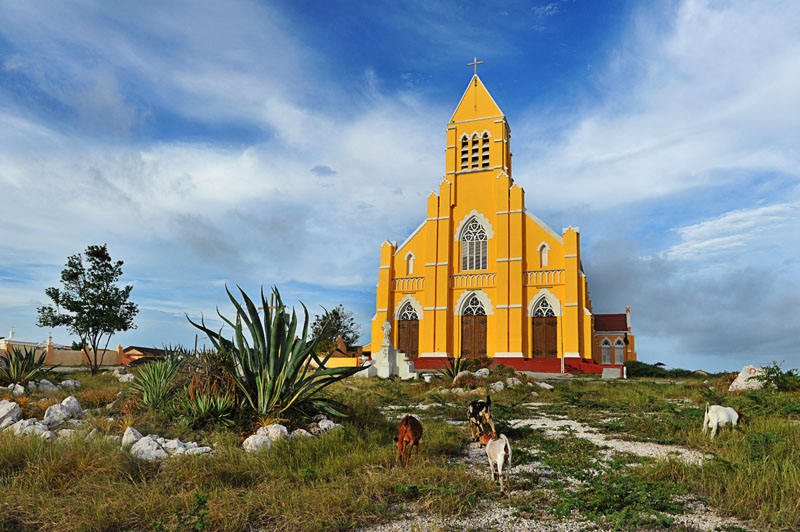 arquitectura holandesa en el caribe_Curazao_iglesia