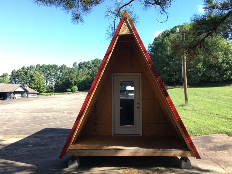 arquitectura_homeless village_módulo habitacional prototipo