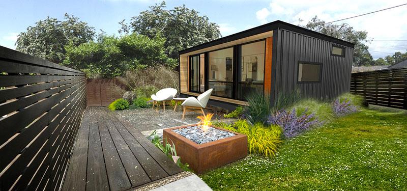 Arquitectura_Honomobo Containeir Homes_ vista exterior modelo 3
