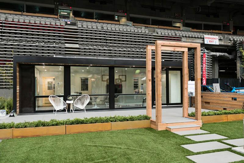 Arquitectura_Honomobo Container Homes_ imagen de un modelo construido