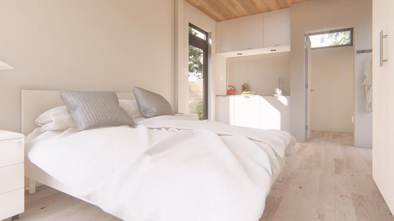 Arquitectura_Honomobo Container Homes_M-Studio_imagen de con dormitorio
