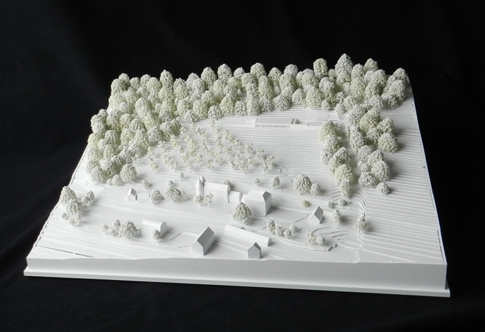 arquitectura_hope View House_maqueta