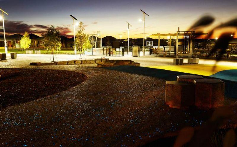 arquitectura_hormigón luminiscente_parque