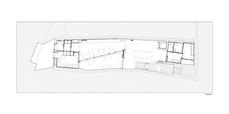 Arquitectura_Hotel armazem_planta -1
