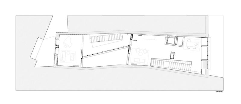 Arquitectura_Hotel armazem_planta baja