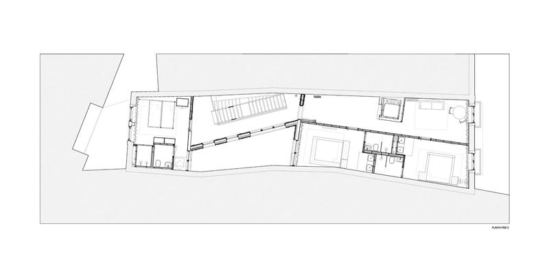 Arquitectura_Hotel armazem_planta segunda