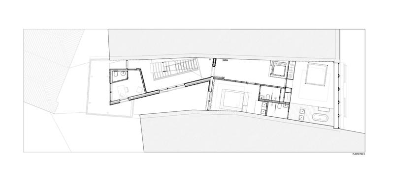 Arquitectura_Hotel armazem_planta tercera