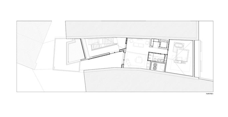 Arquitectura_Hotel armazem_planta cuarta