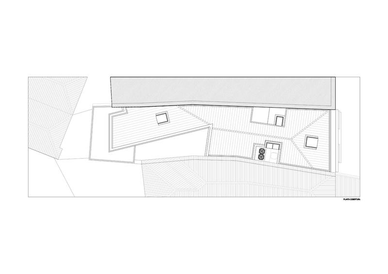 Arquitectura_Hotel armazem_planta de cubierta