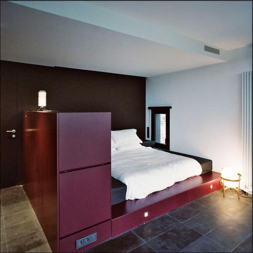 arquitectura_Hotel Consolacion_Teruel- interior de un cubiculo