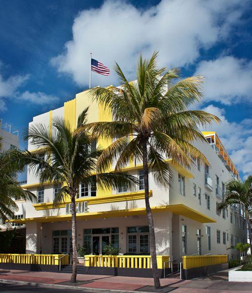 Arquitectura_Hotel Leslie_Art decó_Miami Beach_lateral