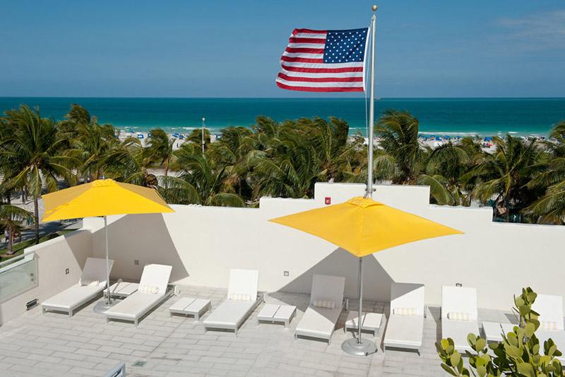 Arquitectura_Hotel Leslie_Art decó_Miami Beach_ terraza