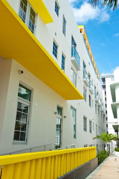 Arquitectura_Hotel Leslie_Art decó_Miami Beach_ fachada lateral 2