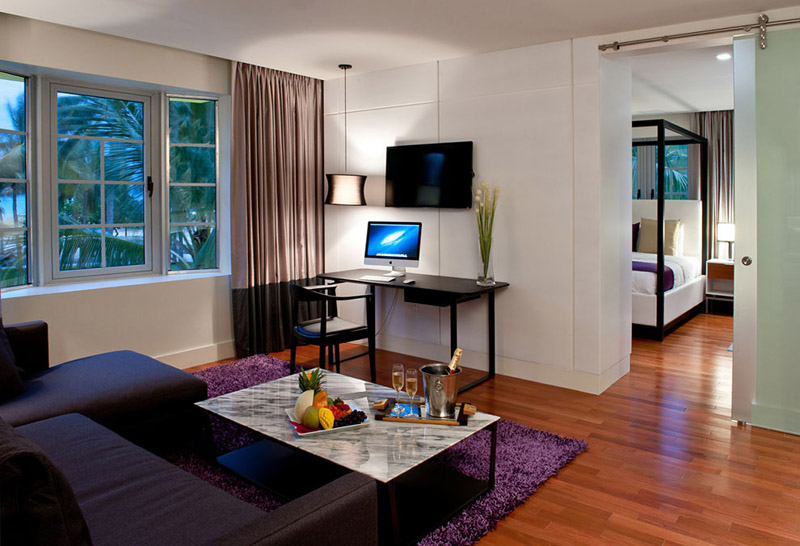 Arquitectura_Hotel Leslie_Art decó_Miami Beach_interior antesala habitación