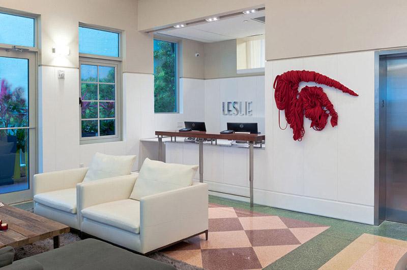 Arquitectura_Hotel Leslie_Art decó_Miami Beach_ interior recepción
