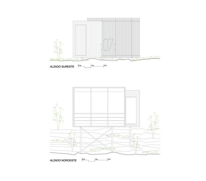 arquitectura_hotel sostenible_vivood_alzados