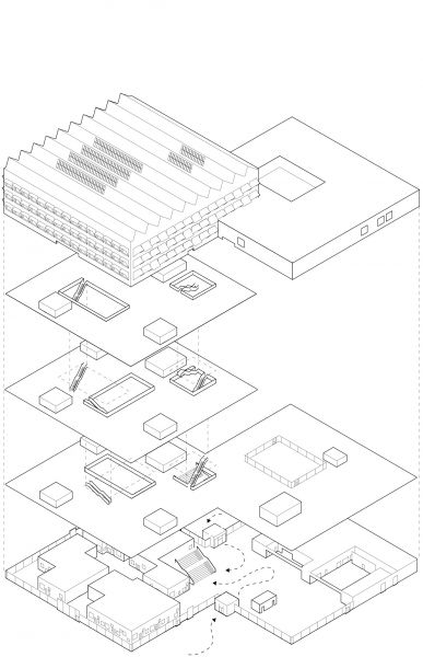 arquitectura_Hubhult_Dorte Mandrup_ESQUEMA