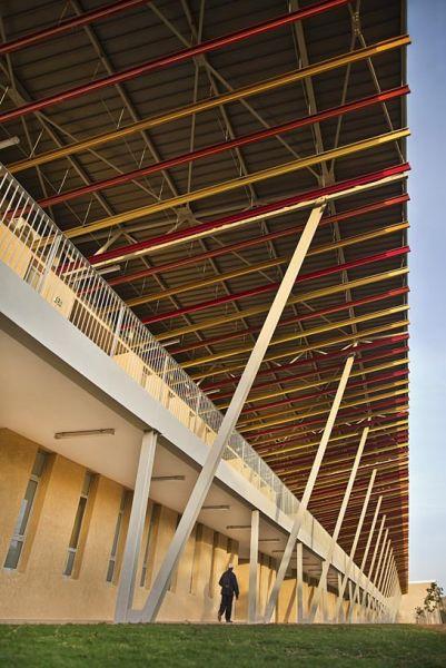 arquitectura_IDOM_universidad Senegal_cubierta