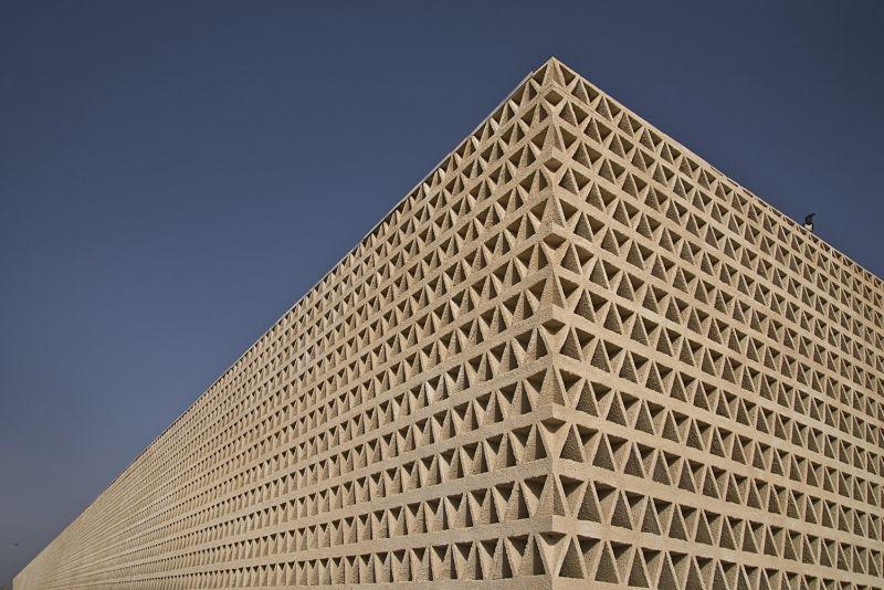 arquitectura_IDOM_universidad Senegal_detalle fachada sur