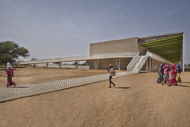 arquitectura_IDOM_universidad Senegal_escalera