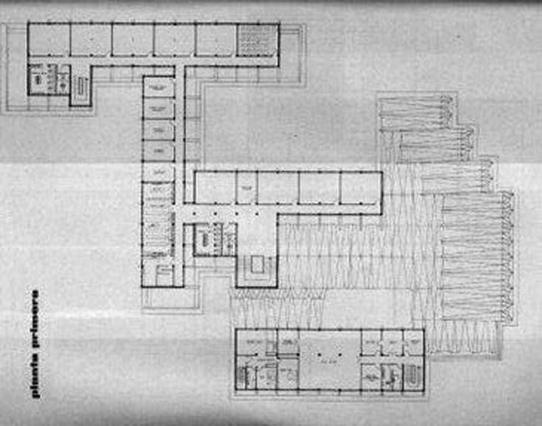 Arquitectura_IESSorolla_Valencia_planta 1