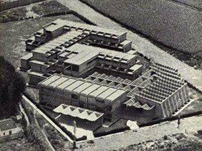 Arquitectura_IESSorolla_Valencia_ imagen aérea antigua
