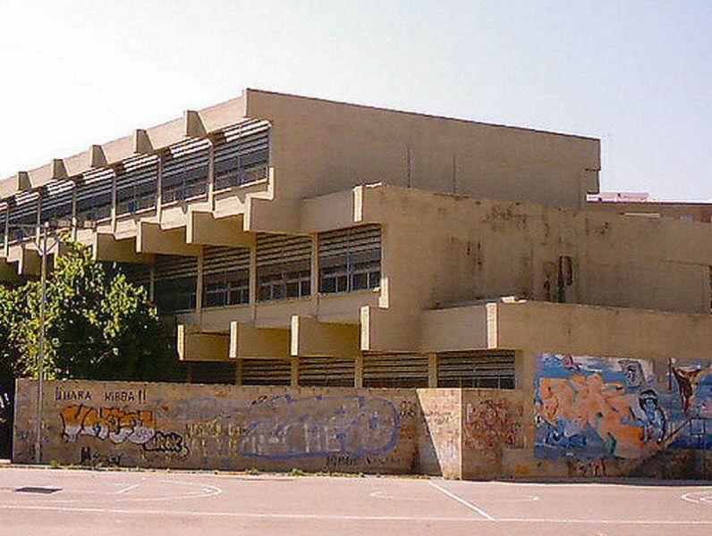 Arquitectura_IES Sorolla_Valencia_volado de aulas