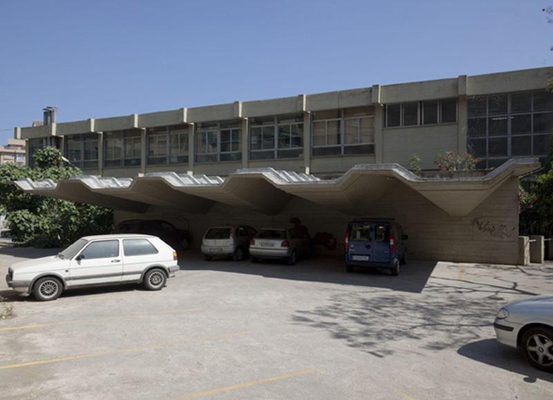 Arquitectura_IESSorolla_Valencia-aparcamientos cubiertas