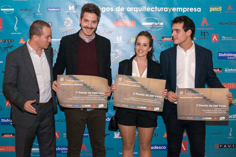 concurso nacional PFC II edicion premios