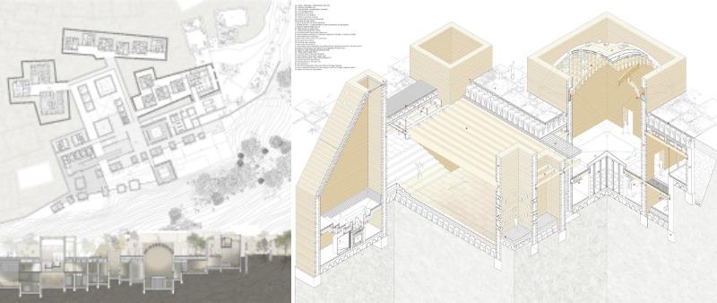 arquitectura, arquitecto, diseño, design, PFC, concurso, arquitectura y emrpresa, Tiermas, Nacho Galán, proyecto final de carrera, segundo clasificado. 2º puesto