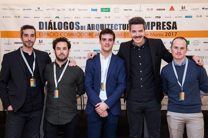 entrega premios II edicion concurso PFC arquitecturayempresa