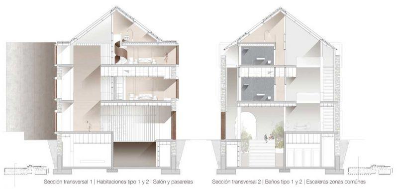 finalista III edicion concurso PDF arquitecturayempresa Museo hotel del mar alvaro larrondo secciones