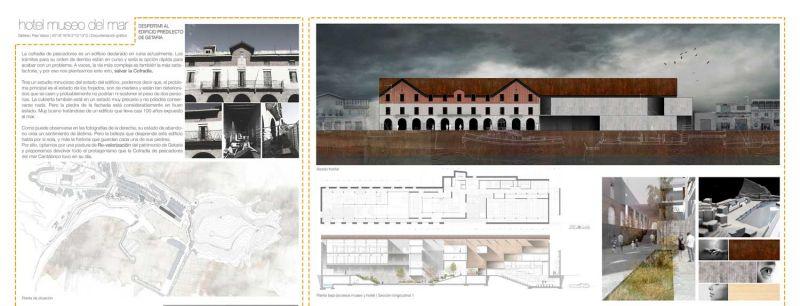 finalista III edicion concurso PDF arquitecturayempresa Museo hotel del mar alvaro larrondo panel 01