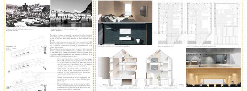 finalista III edicion concurso PDF arquitecturayempresa Museo hotel del mar alvaro larrondo panel 02