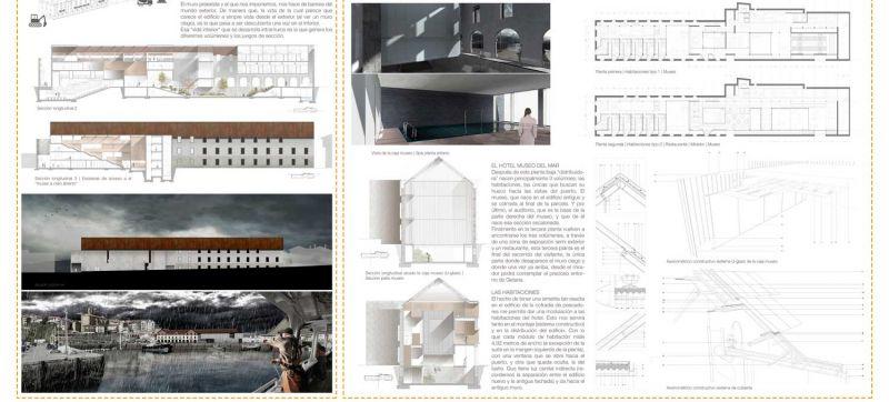 finalista III edicion concurso PDF arquitecturayempresa Museo hotel del mar alvaro larrondo panel 03
