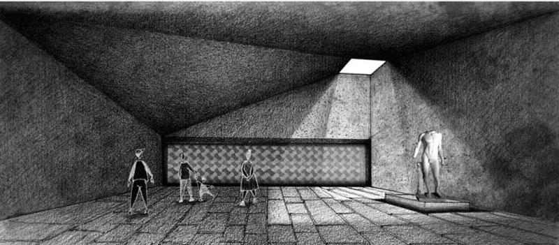 """""""Museo Imperial Romano: Puerta nueva de Villa Adriana"""" Concepción Beldad Camuñas primer premio III Edición concurso PFC arquitecturayempresa imagen 06"""