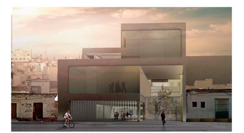 Tallando el vacio Angélica Juan Muñoz 2º premio III edicion concurso pfc arquitecturayempresa
