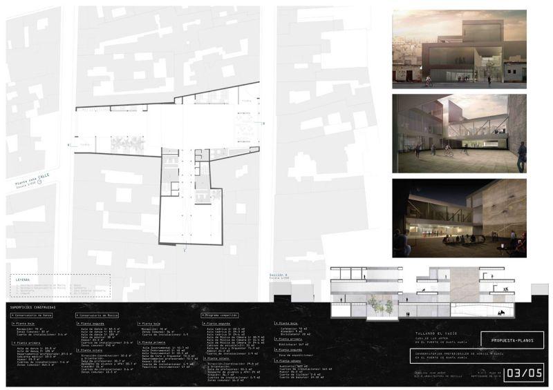 Tallando el vacio Angélica Juan Muñoz 2º premio III edicion concurso pfc arquitecturayempresa panel 3