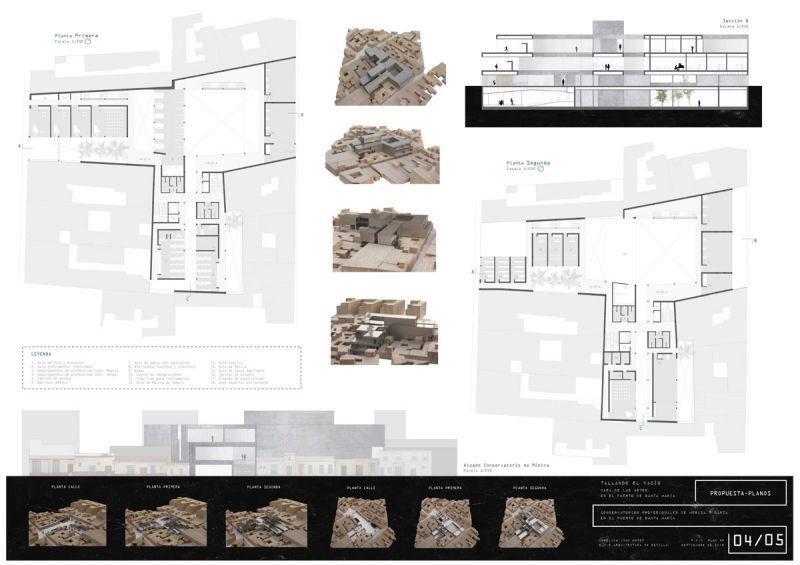 Tallando el vacio Angélica Juan Muñoz 2º premio III edicion concurso pfc arquitecturayempresa panel 4