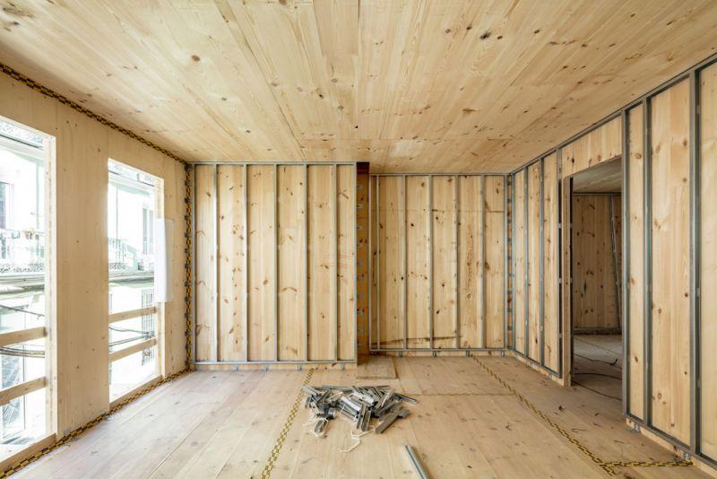 arquitectura impacto cero b720 fermin vazquez arquitectos edificio buenavista fotografia interior en construccion