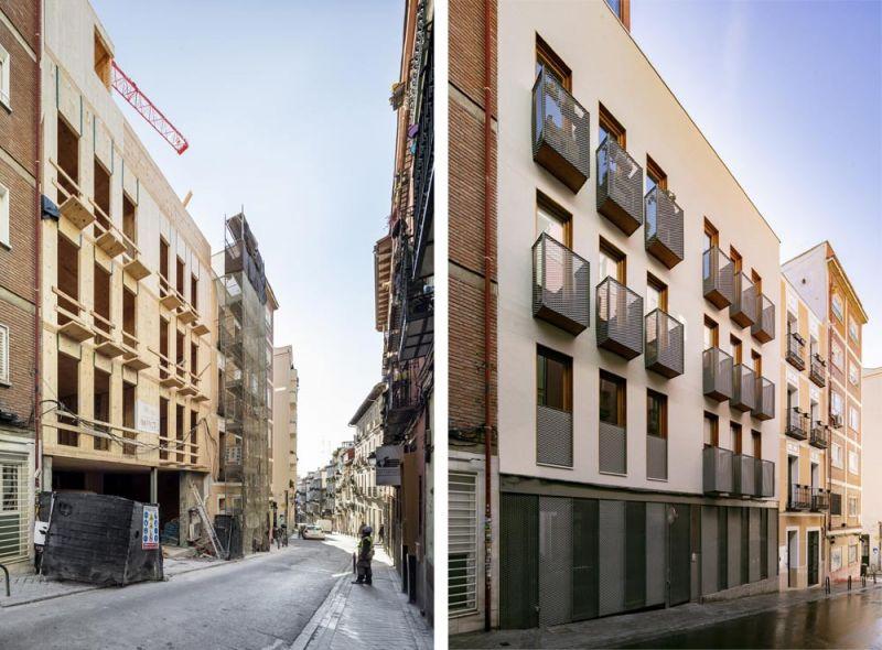 arquitectura impacto cero b720 fermin vazquez arquitectos edificio buenavista fotografia interior en construccion fachada